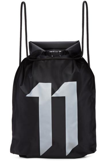11 by Boris Bidjan Saberi - Black Waterproof Gym Backpack