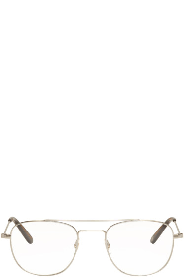 Garrett Leight - Silver Club House 50 Glasses