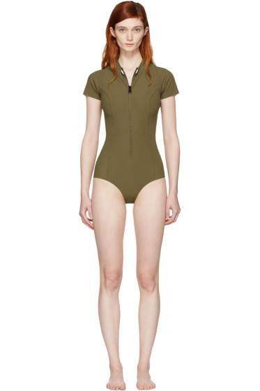 Lisa Marie Fernandez - Khaki Farrah Swimsuit