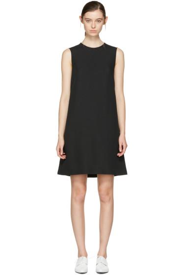 Jil Sander Navy - ブラック A ライン シフト ドレス