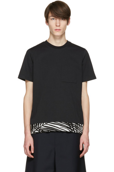 OAMC - Black Palm Rib T-Shirt