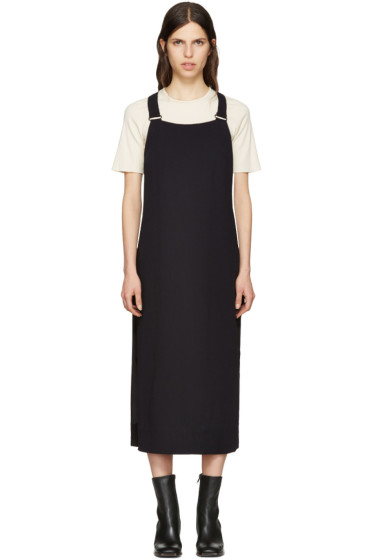 Nomia - SSENSE Exclusive Navy Racerback Dress