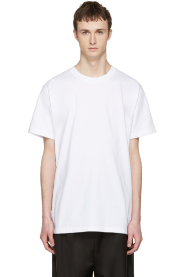 D by D - White 'New Wave' T-Shirt