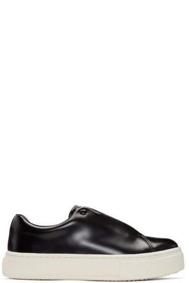 Eytys - Black Leather Doja Sneakers