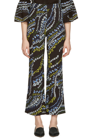 Erdem - Black Verity Trousers
