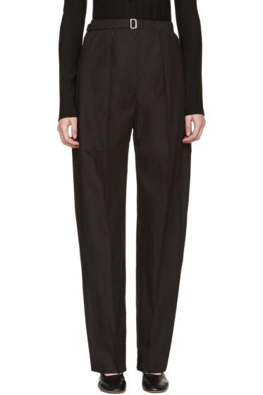 Lemaire - Black Cargo Pants