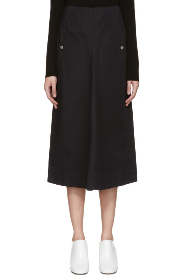 Lemaire - Black Flared Skirt