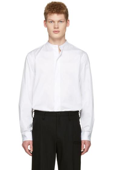 Lemaire - White Officer Collar Shirt