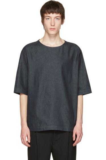 Lemaire - Indigo Denim T-Shirt