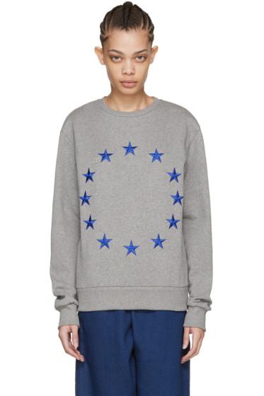 Etudes - グレー エトワール エウロパ スウェットシャツ