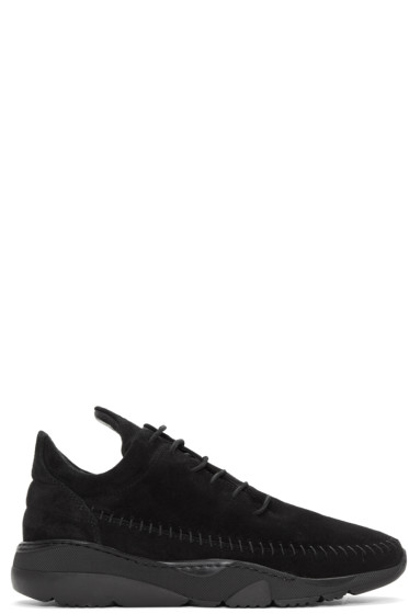 Filling Pieces - Black Apache Runner Low Sneakers