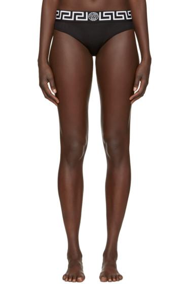 Versace Underwear - Black Medusa Briefs