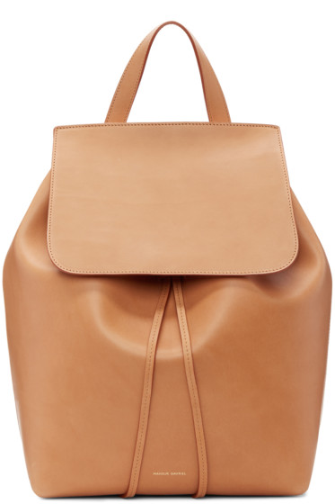 Mansur Gavriel - Tan Leather Backpack