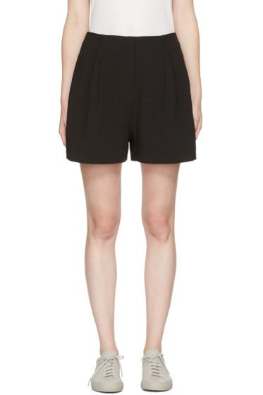 Edit - Black Full Shorts