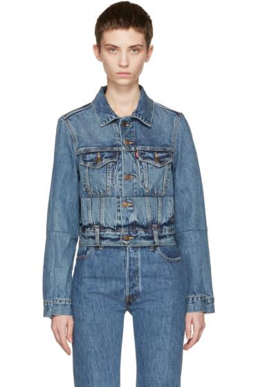 Vetements - Blue Levi's Edition Reworked Denim Jacket