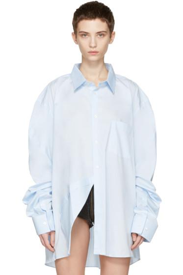 Vetements - Blue Comme des Garçons Edition Packshot Shirt