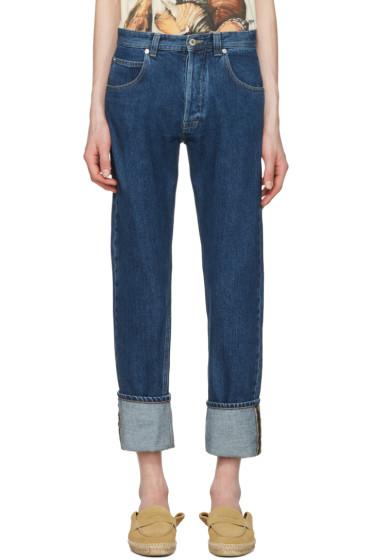 Loewe - Indigo Stonewash Jeans