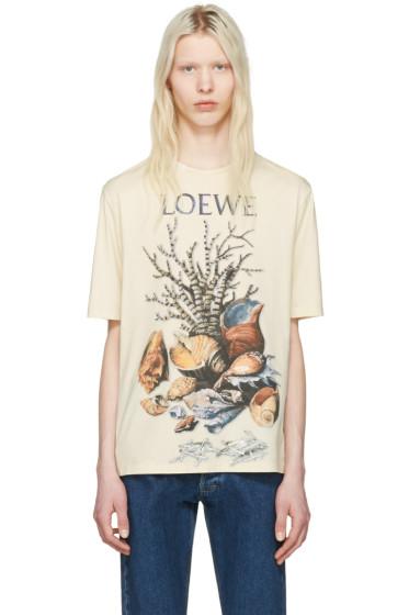 Loewe - Beige Shell Still Life T-Shirt