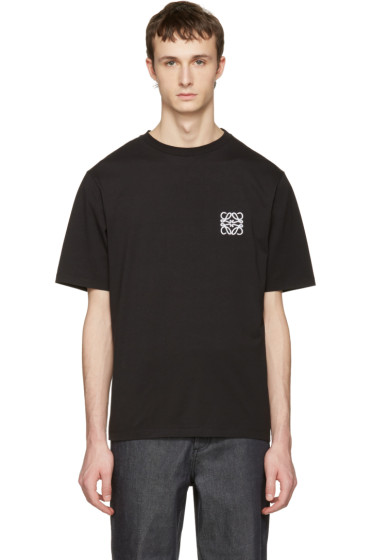 Loewe - Black Logo T-Shirt