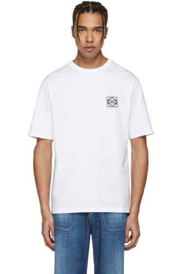 Loewe - White Anagram Logo T-Shirt