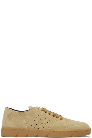Loewe - Tan Classic Nubuck Sneakers
