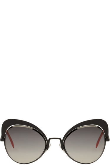 Fendi - Black Butterfly Sunglasses