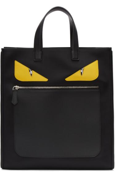 Fendi - Black 'Bag Bugs' Tote