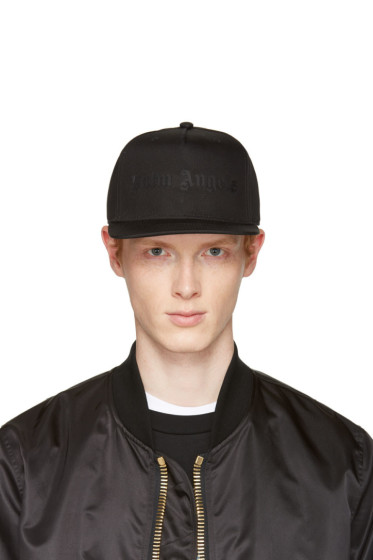 Palm Angels - Black Logo Cap