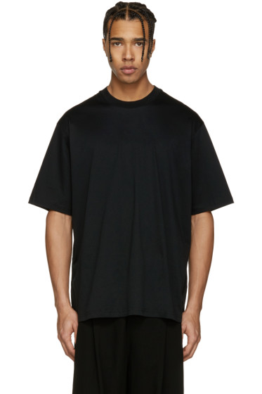 Song for the Mute - Black Oversized 'Beau' T-Shirt