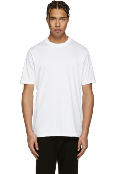 Song for the Mute - White Slim T-Shirt