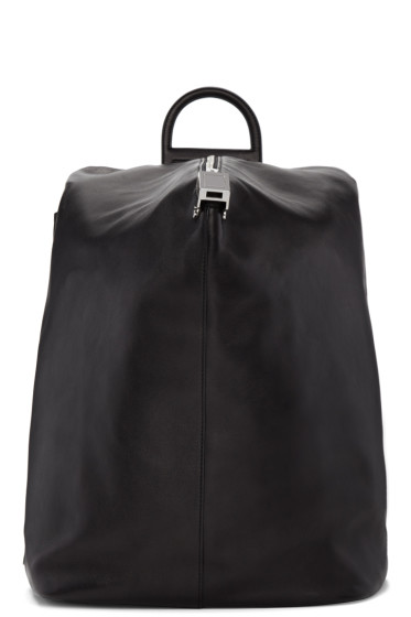Wooyoungmi - Black Structure Backpack