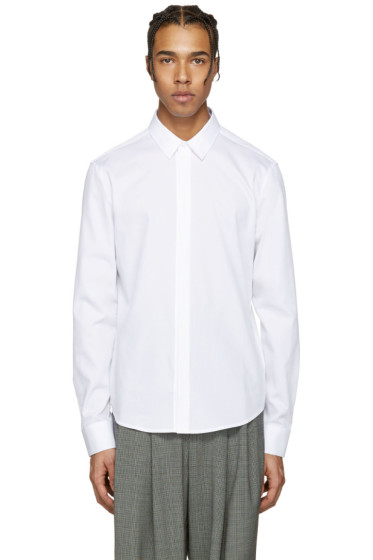 Wooyoungmi - White Cotton Shirt