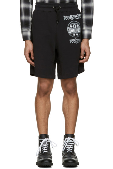 Moschino - Black Logo Shorts