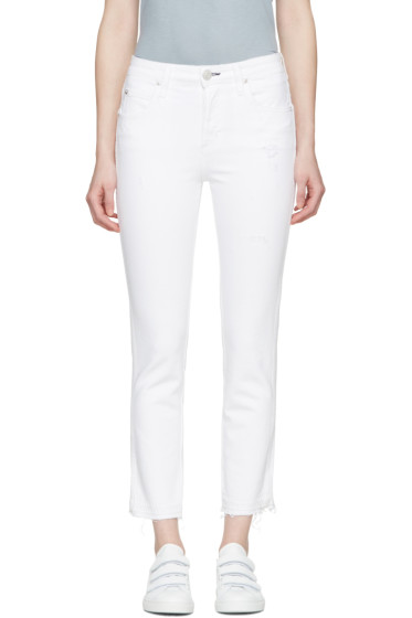 Amo - White Babe Jeans