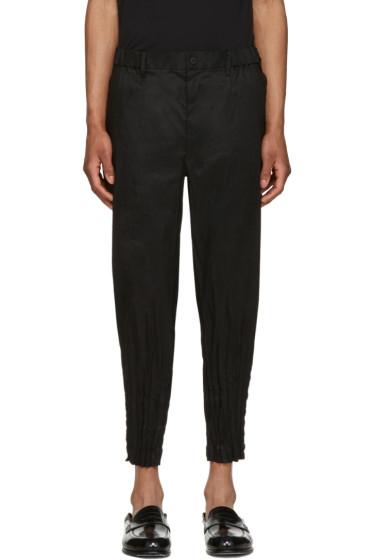 Issey Miyake Men - Black Shibori Trousers