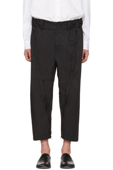 Issey Miyake Men - Black Adjustable Silhouette Trousers