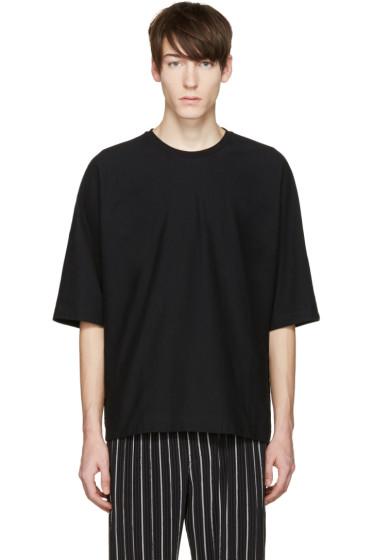 Homme Plissé Issey Miyake - Black Bat Sleeve T-Shirt