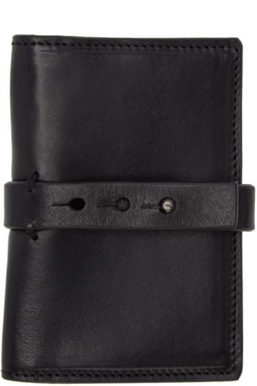 Isabel Benenato - Black Leather Wallet