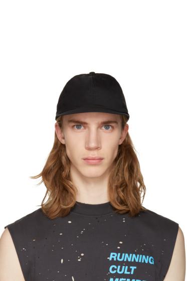 Satisfy - Black Running Cap