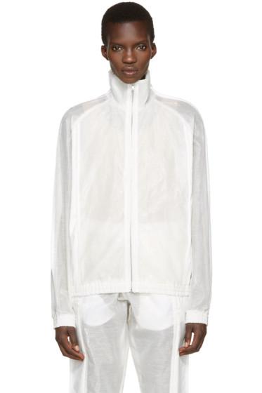 Cottweiler - White Shade Zip-Up Pullover