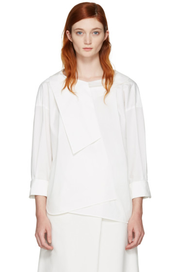 Enfold - White Over Blouse