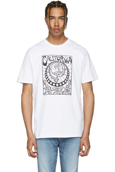 Vans - White Taka Hayashi Edition Stained Glass T-Shirt