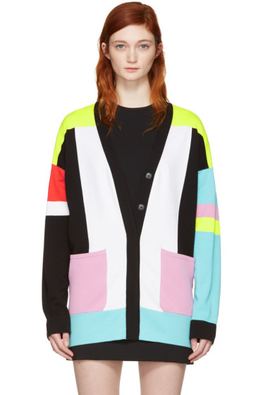 Emilio Pucci - Multicolor Colorblock Cardigan