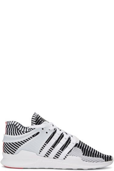 adidas Originals - White & Black Equipment Support ADV PK Sneakers