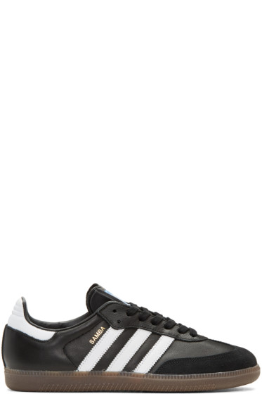 adidas Originals - Black Samba OG Sneakers