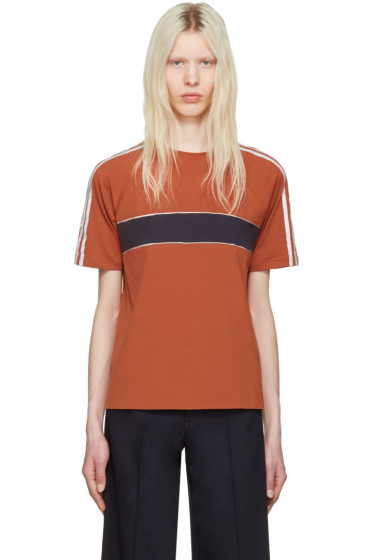 Wales Bonner - Orange George T-Shirt