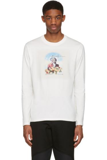 Wales Bonner - Ivory 'Saint Georges' T-Shirt