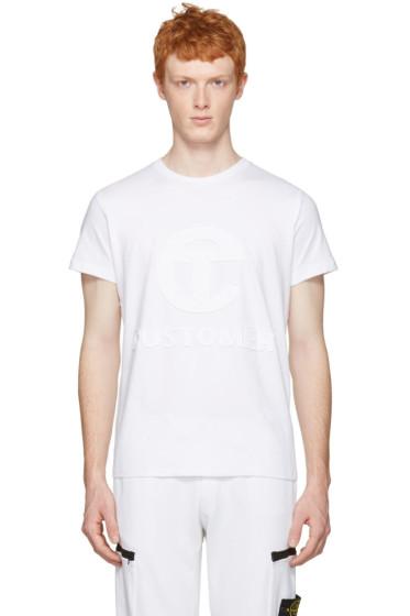 Telfar - White 'Customer' T-Shirt
