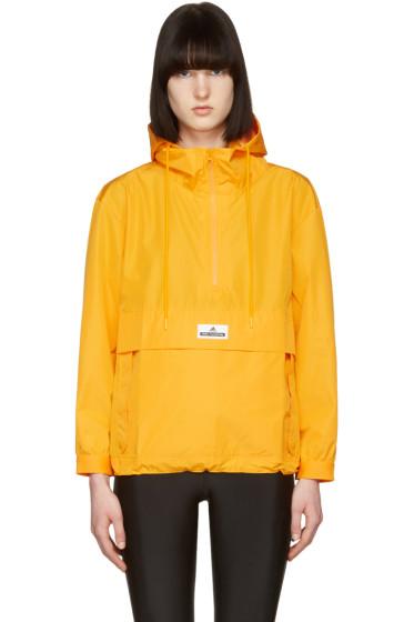adidas by Stella McCartney - Yellow Pull-On Windbreaker Jacket
