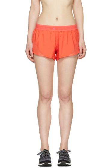 adidas by Stella McCartney - Orange Run Adizero Shorts